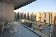 Apartment in Dubai - Dubai apartments in the Waves for rent monthly