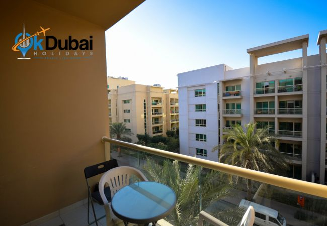 Studio in Dubai - Furnished studio for rent monthly in Greens