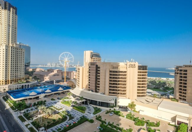 Studio in Dubai - Holiday Apartment with Dubai Eye and sea views
