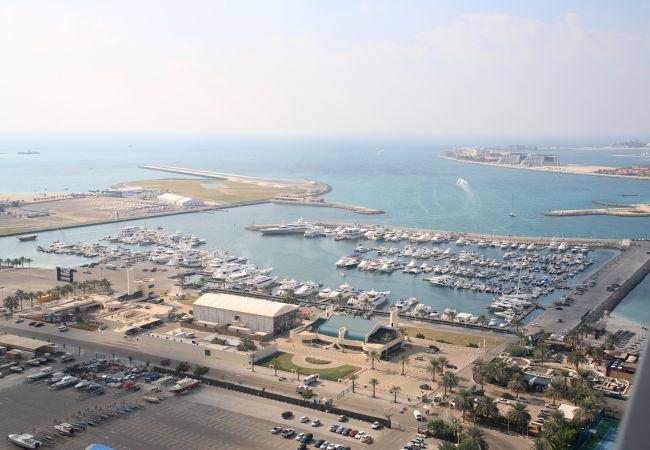 Apartment in Dubai - Open sea views at Dubai Marina 2br