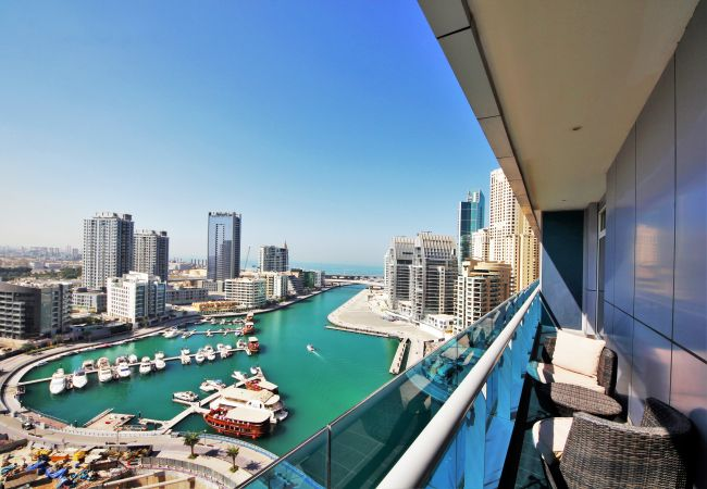 Absolutely stunning view from your short term rental Dubai