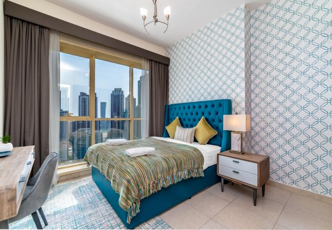 in Dubai - Brand-new 2 Bedroom Apartment in MBK Tower, Sheikh Zayed road